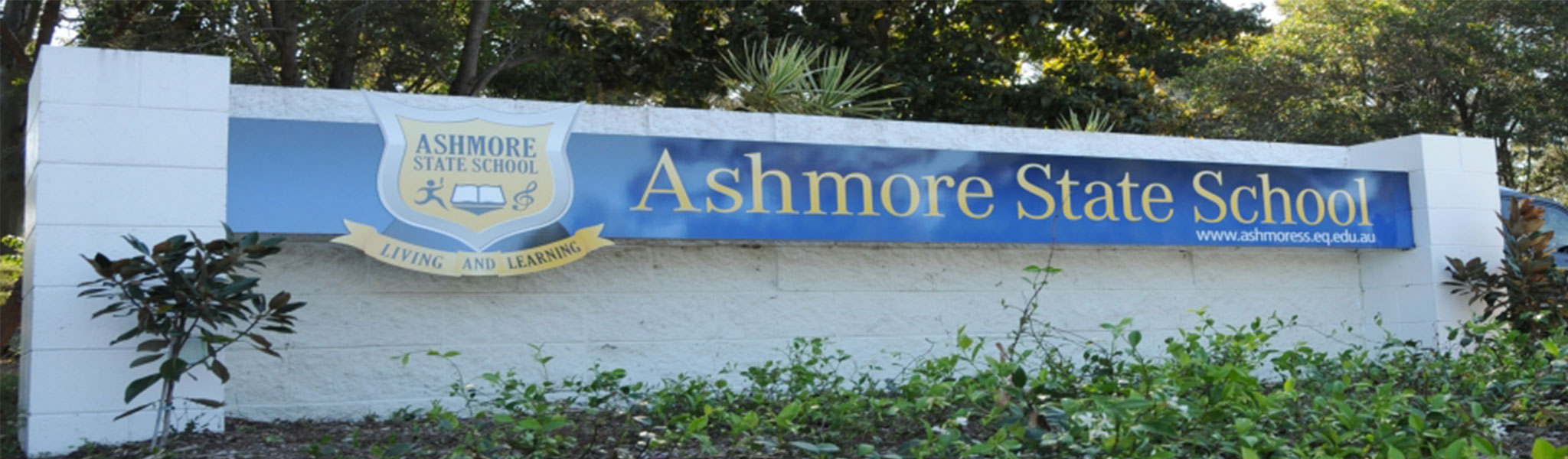 Ashmore State School sign